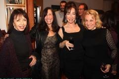 Opening at ArtsourceLoft Barbara, Joyce, Sachi, Ms D