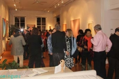 Exhibit-and full house at ArtsourceLoft